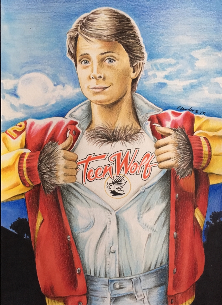 Michael J Fox by TraceyLawler